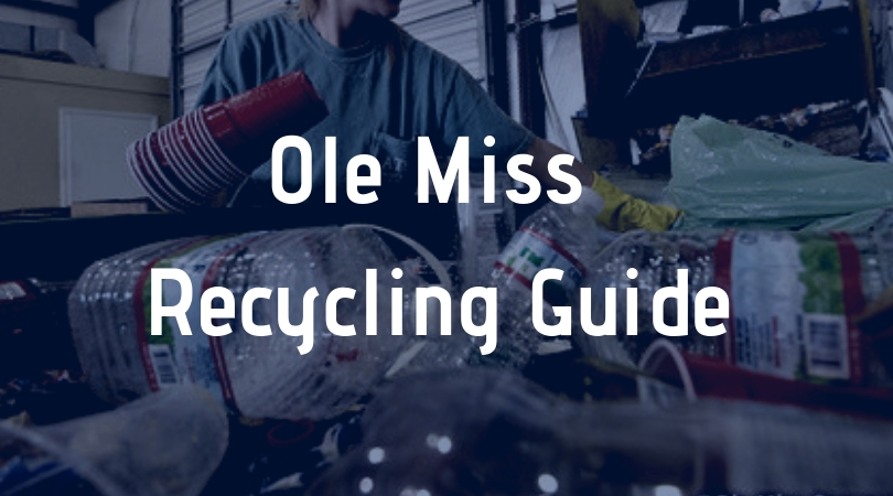 Ole Miss Recycling Guide
