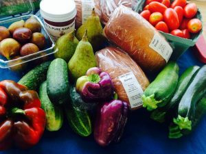 Incorporate fresh, local vegetables like these from the Oxford Community Market into your diet!