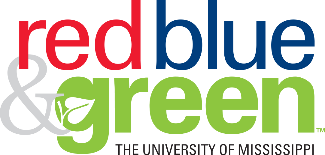 red blue & green logo