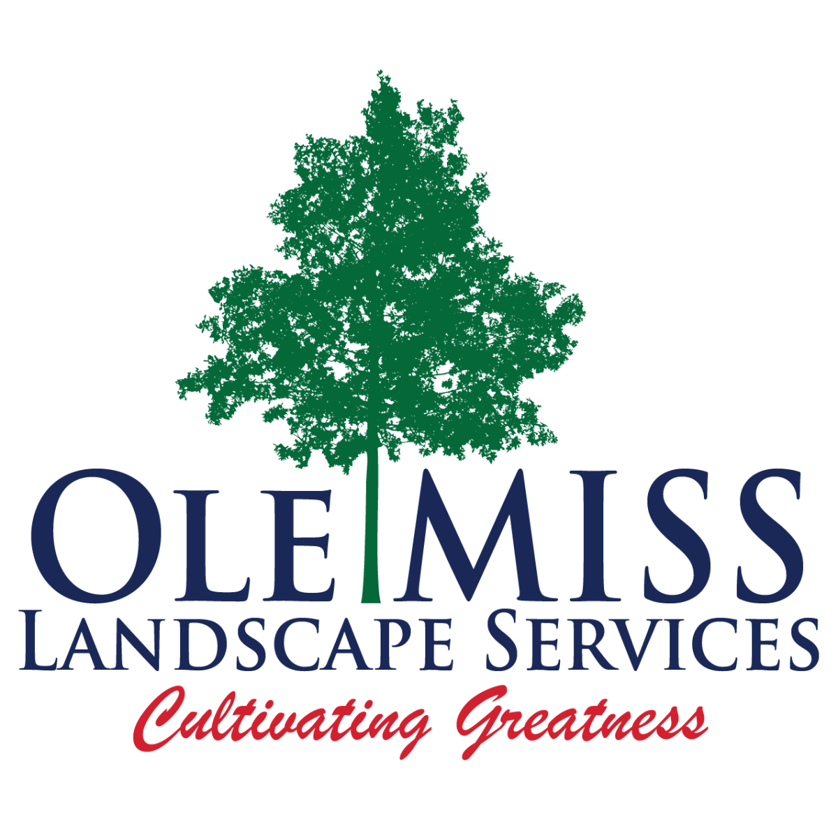 Ole Miss Landscape Services Logo