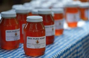 Mardis Honey will have fresh local honey available at the Festival.