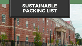 Sustainable Packing List