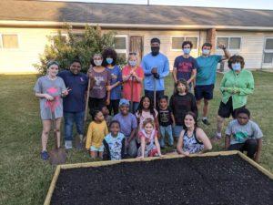 Volunteer work at Community Garden